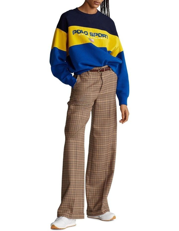 Color-Block Fleece Sweatshirt image 3