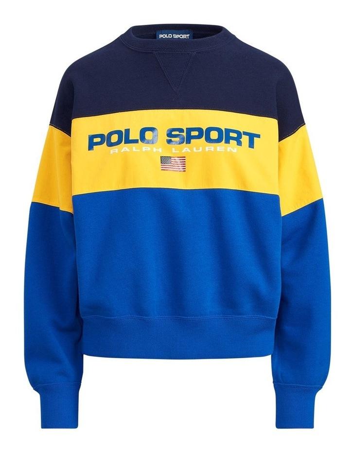 Color-Block Fleece Sweatshirt image 4