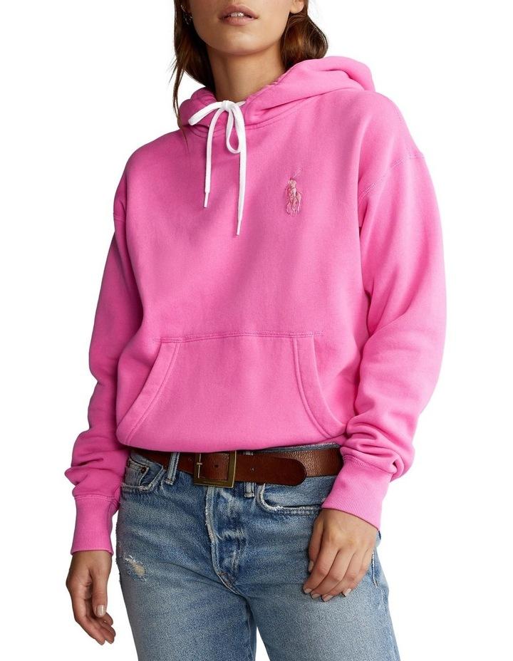Pink Pony Fleece Hoodie image 1