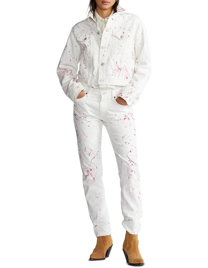 Pink Pony Denim Trucker Jacket image 4