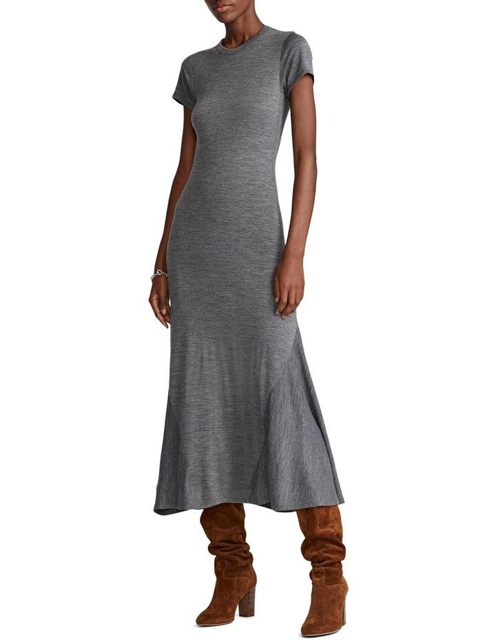 Wool-Blend Crewneck Dress image 1