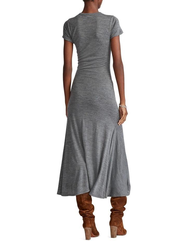 Wool-Blend Crewneck Dress image 3