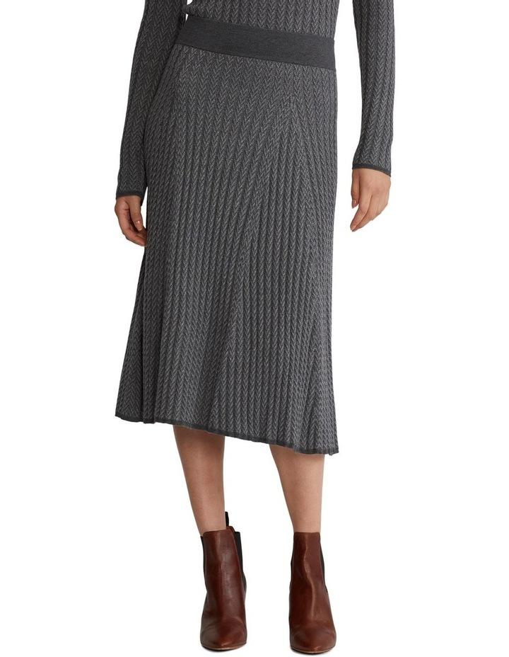 Ribbed Wool Skirt image 1