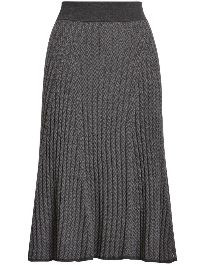 Ribbed Wool Skirt image 2