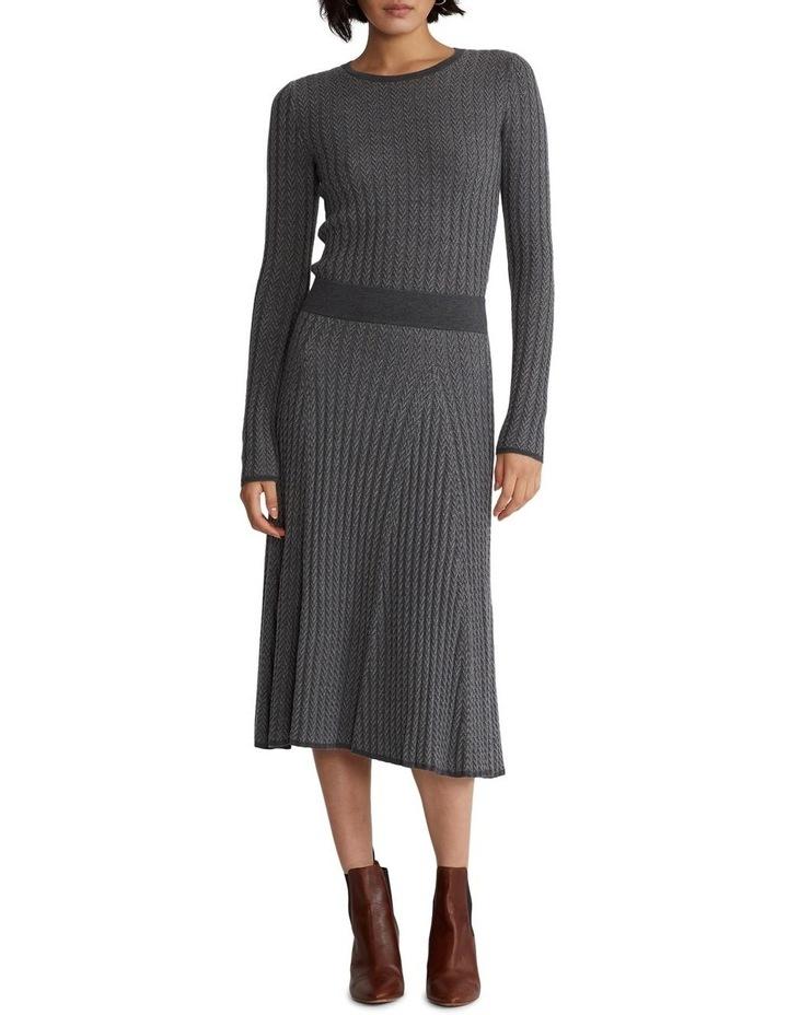 Ribbed Wool Herringbone Sweater image 3