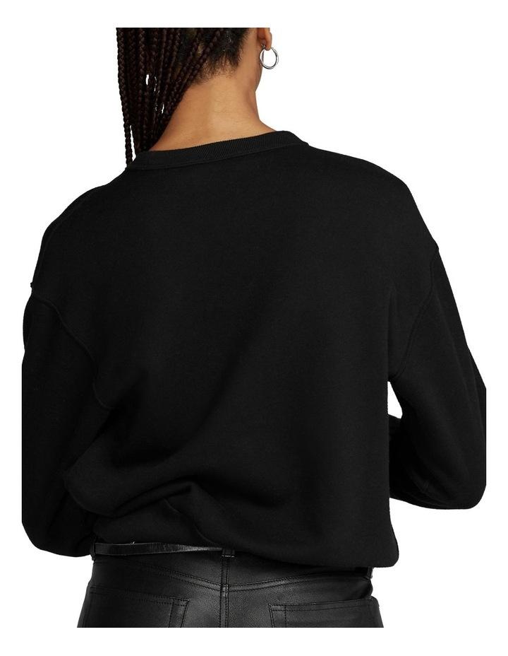 Soutache-Trim Fleece Sweatshirt image 2