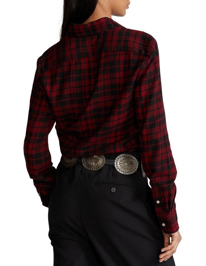 Classic Fit Plaid Cotton Shirt image 2