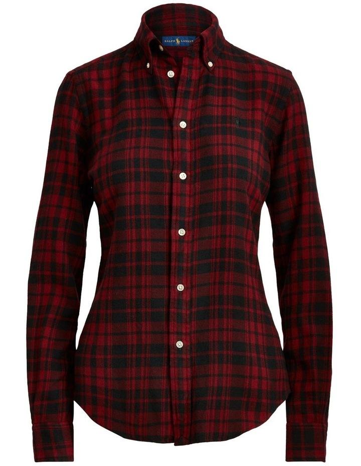 Classic Fit Plaid Cotton Shirt image 3