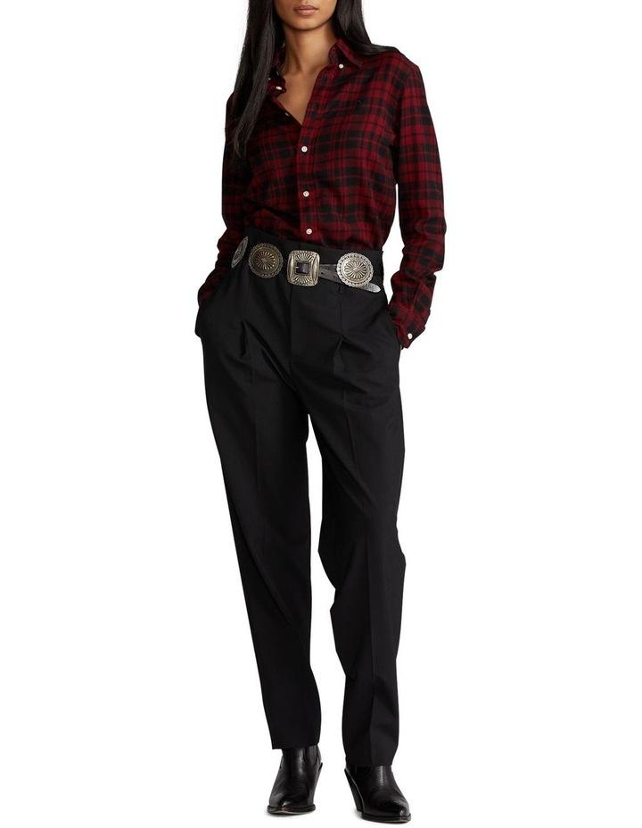 Classic Fit Plaid Cotton Shirt image 4