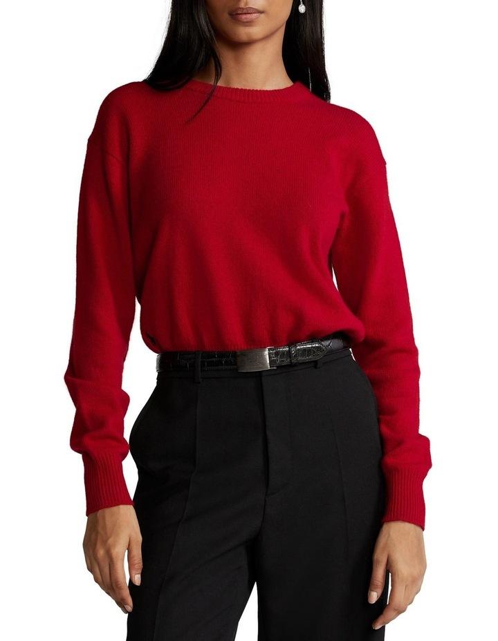 Wool-Blend Crewneck Sweater image 1