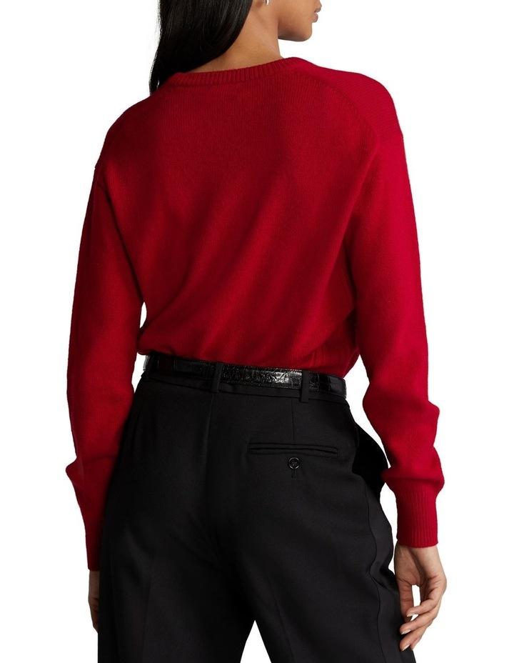 Wool-Blend Crewneck Sweater image 2