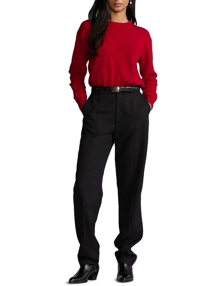 Wool-Blend Crewneck Sweater image 3