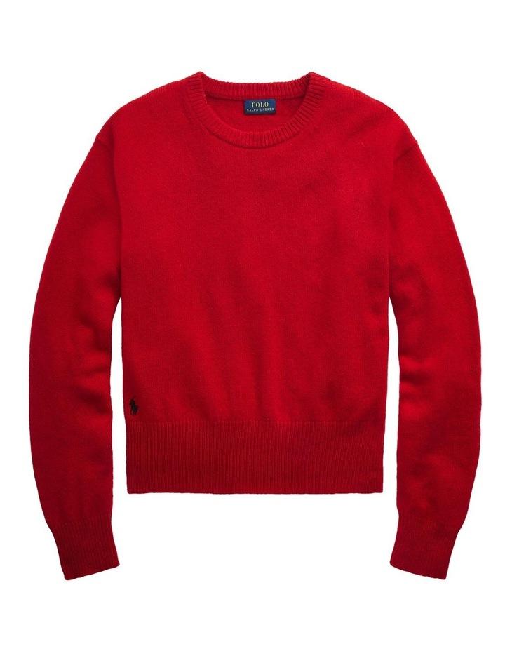 Wool-Blend Crewneck Sweater image 4