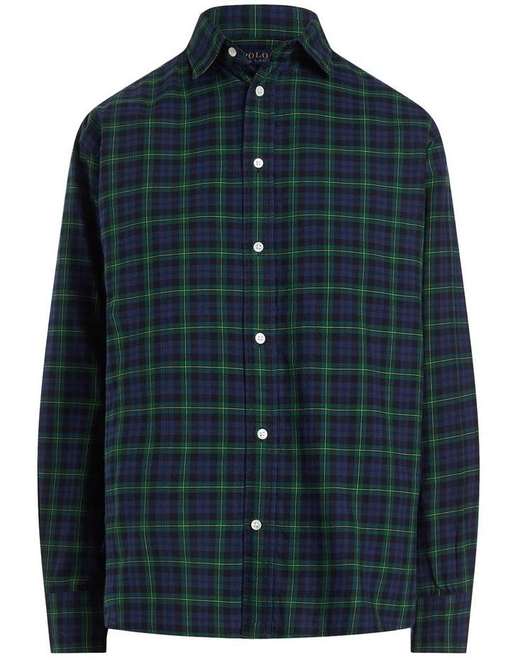 Plaid Cotton Twill Shirt image 1