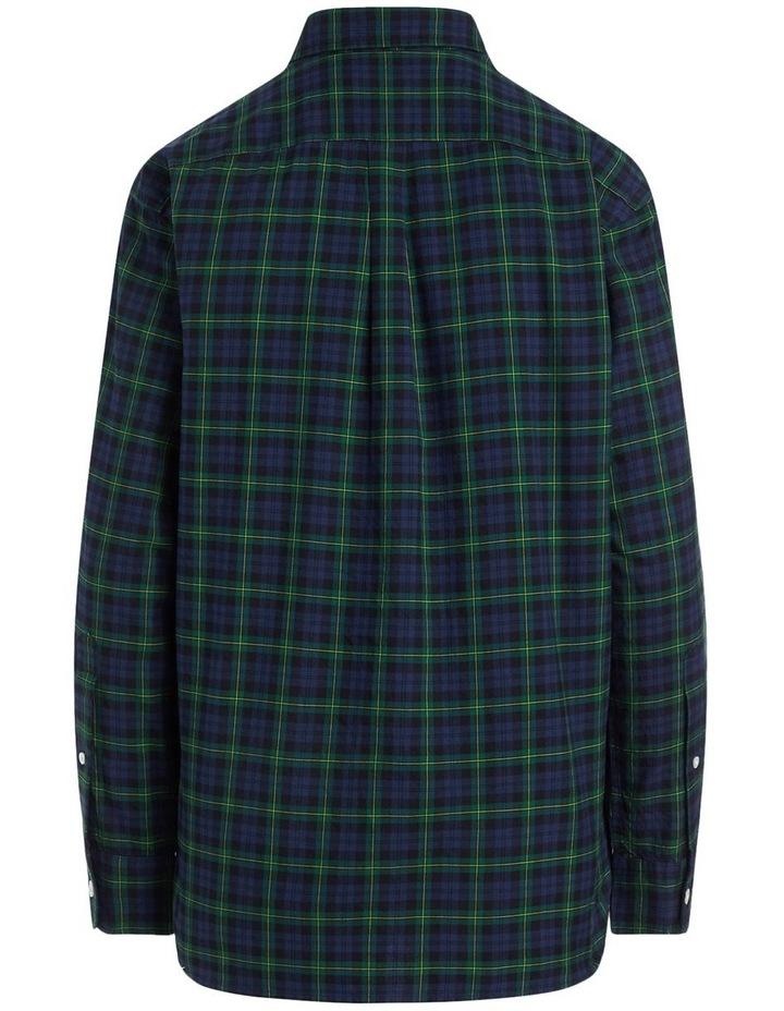 Plaid Cotton Twill Shirt image 2