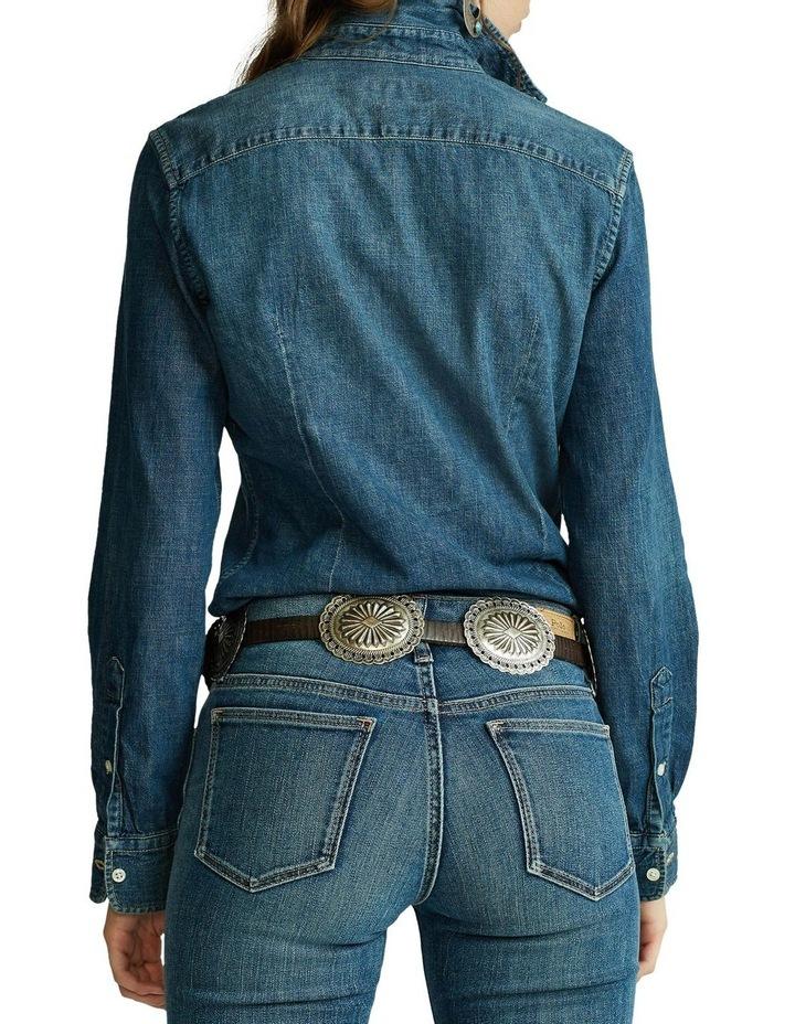 Custom Fit Denim Shirt image 2