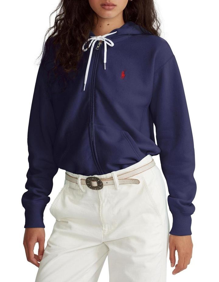 Fleece Full-Zip Hoodie image 1
