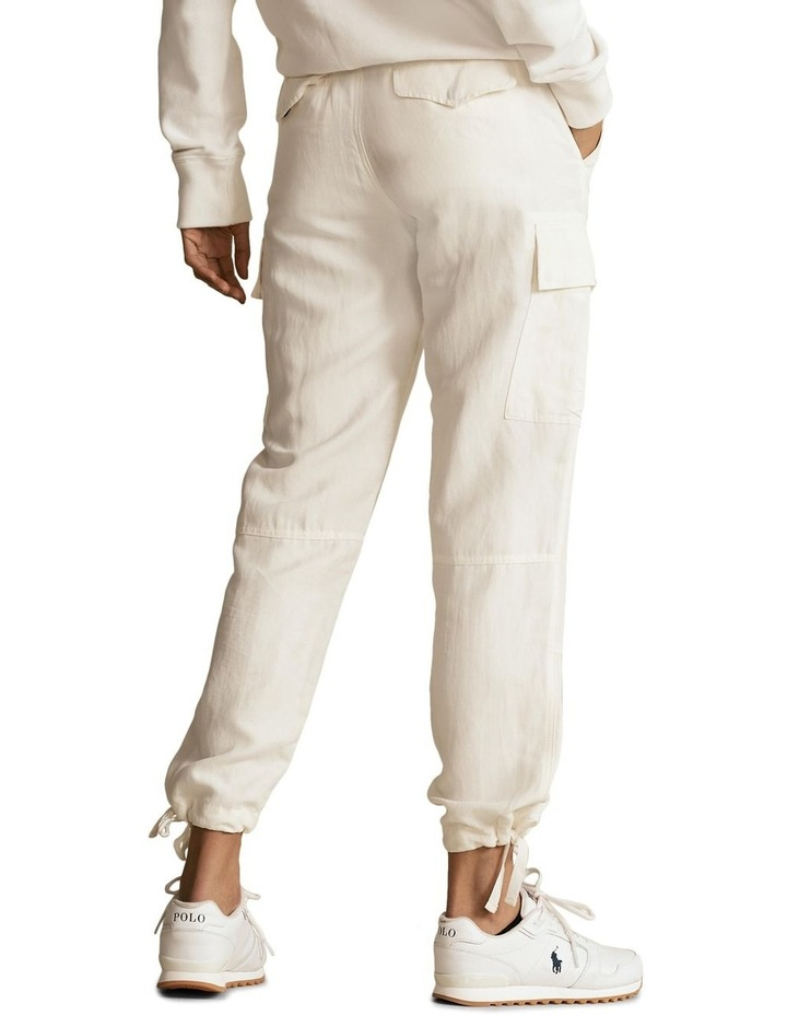Silk-Blend Cargo Pant image 2