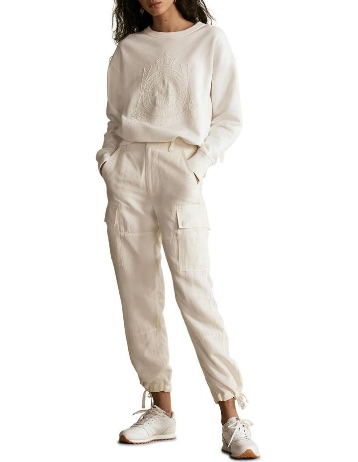 Silk-Blend Cargo Pant image 4