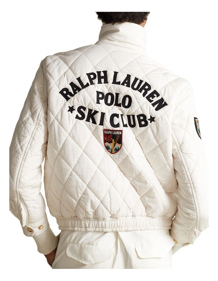 Quilted Cotton Bomber Jacket image 2