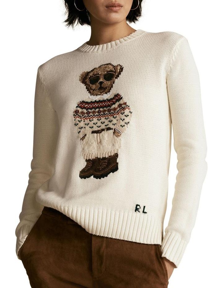 Polo Bear Crewneck Sweater image 1