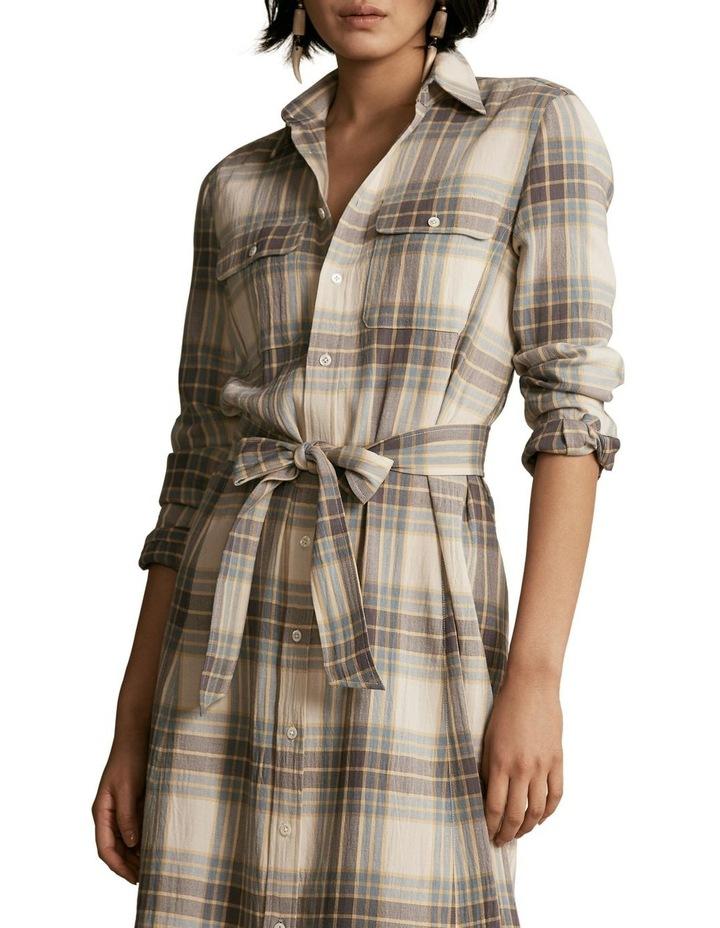 Plaid Belted Dress image 1