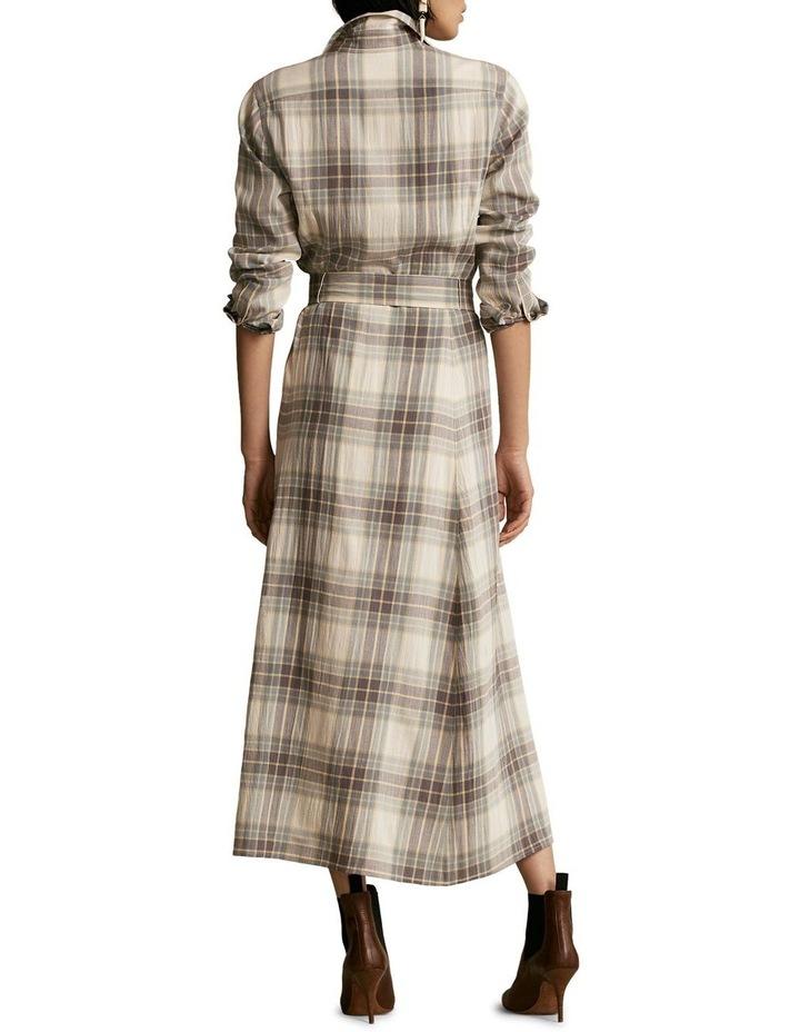 Plaid Belted Dress image 2