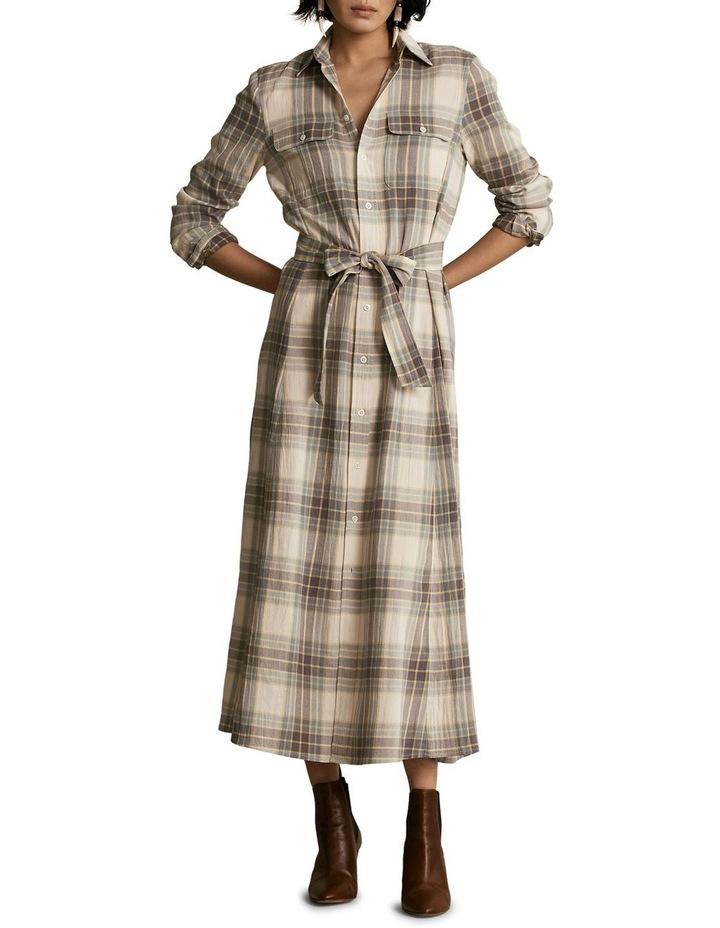 Plaid Belted Dress image 3
