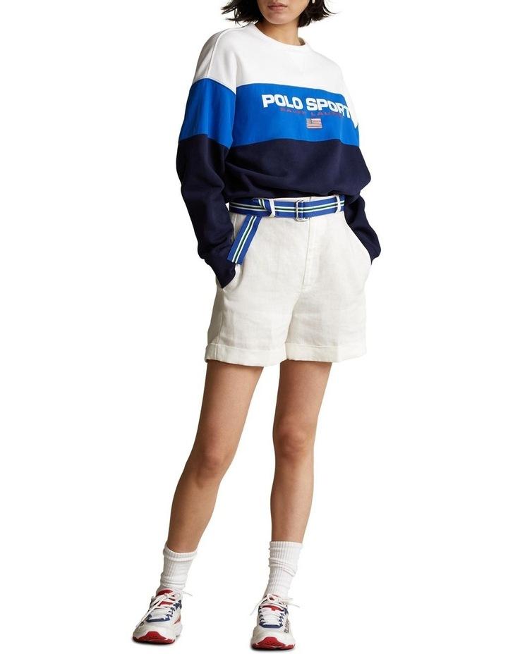 Color-Blocked Polo Sport Sweatshirt image 3