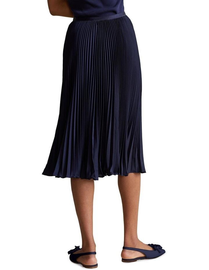 Pleated Midi Skirt image 2