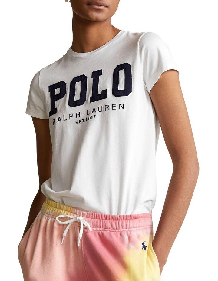 Polo Logo Cotton Jersey Tee image 1