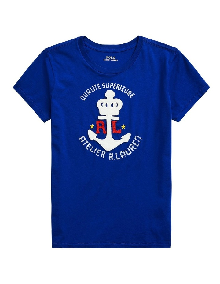 Anchor Graphic Cotton Tee image 3