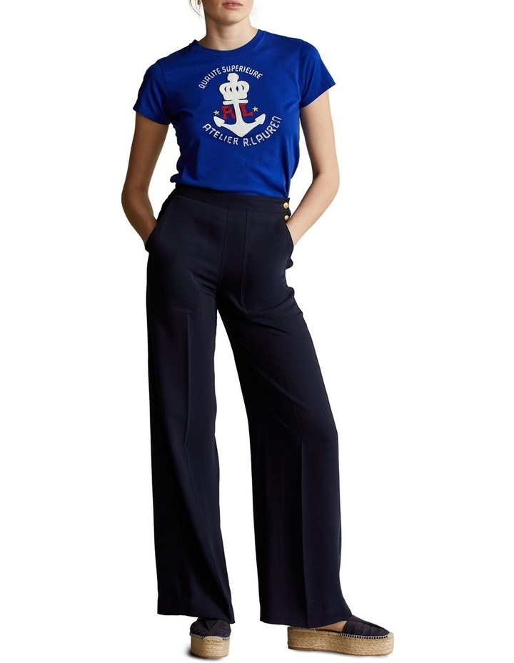 Anchor Graphic Cotton Tee image 4