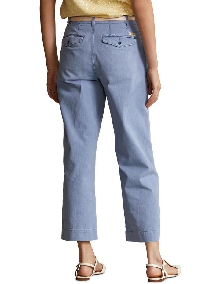 Cotton Twill Wide-Leg Pant image 2