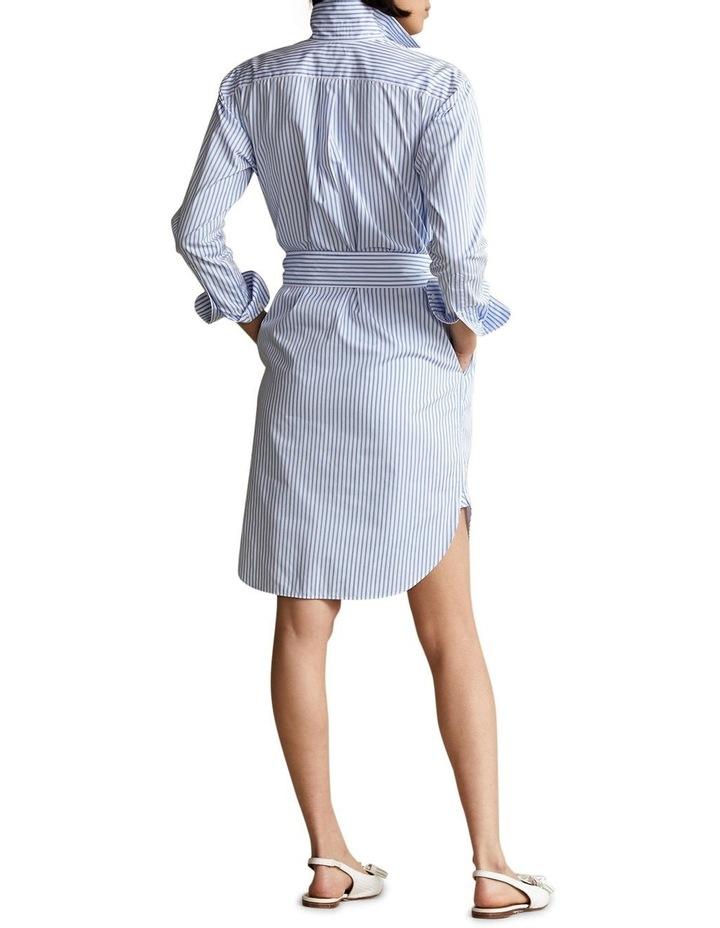 Striped Belted Shirtdress image 2