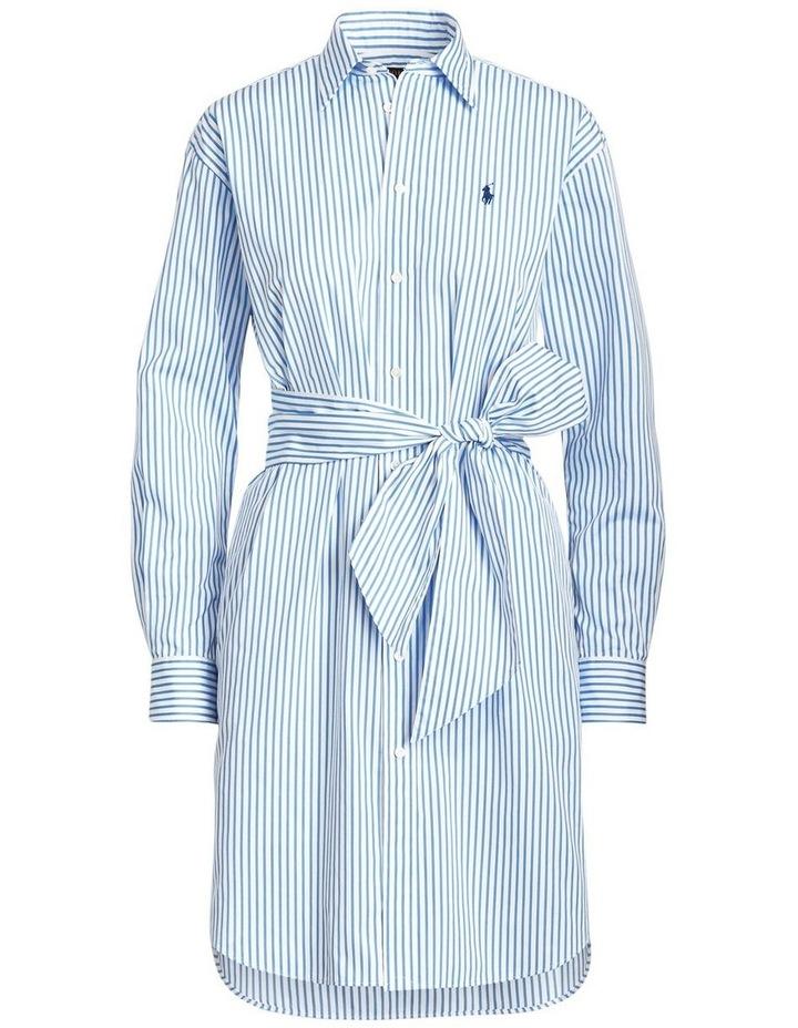 Striped Belted Shirtdress image 4