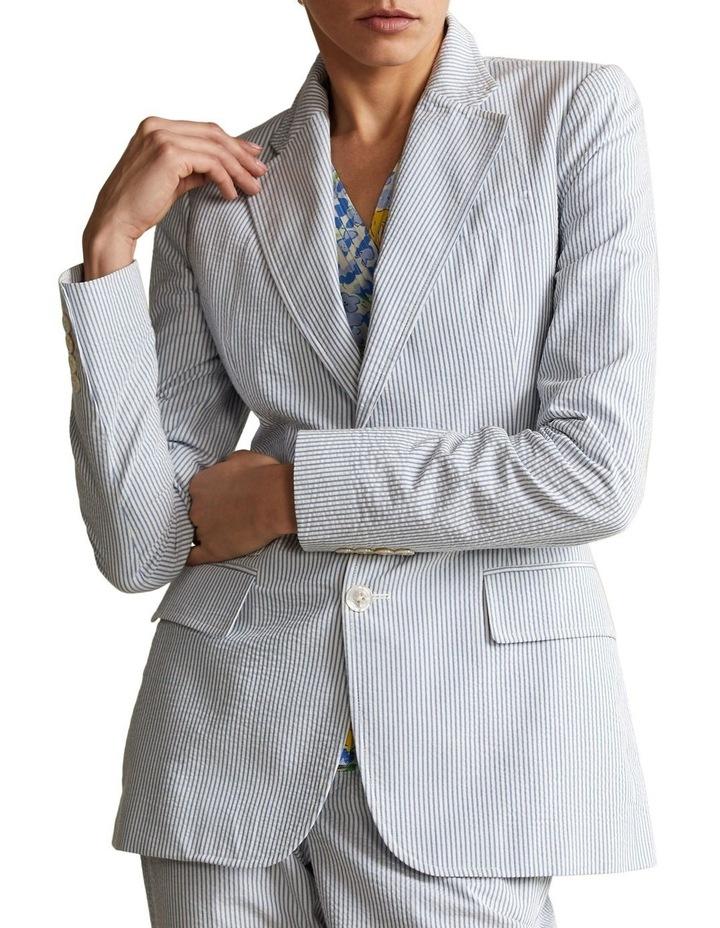 Cotton Seersucker Blazer image 1