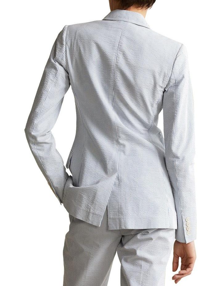 Cotton Seersucker Blazer image 2
