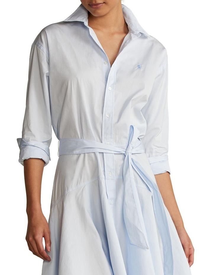 Cotton Broadcloth Shirtdress image 1