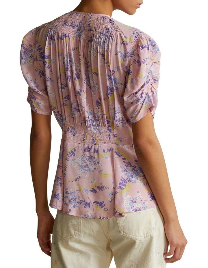 Floral Peplum Blouse image 2