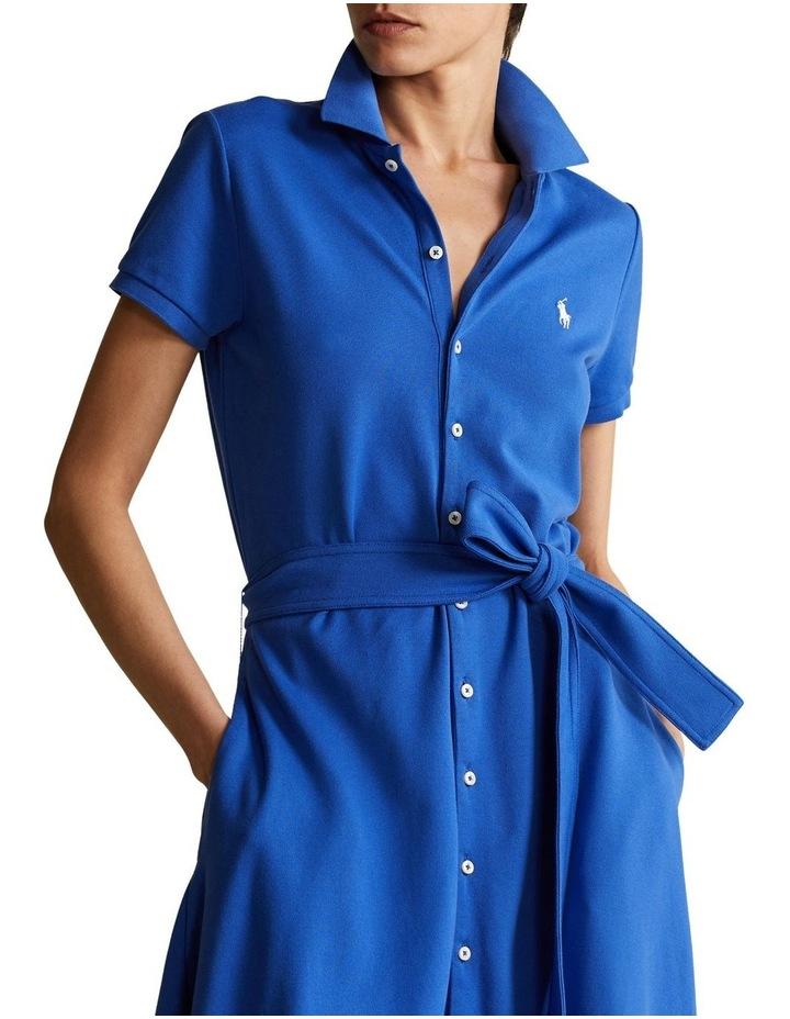 Pique A-Line Polo Dress image 1