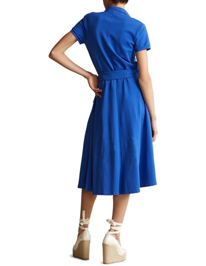 Pique A-Line Polo Dress image 2