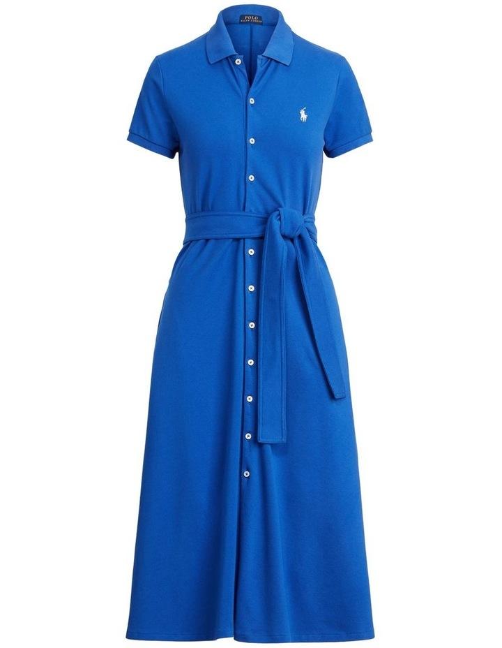 Pique A-Line Polo Dress image 4