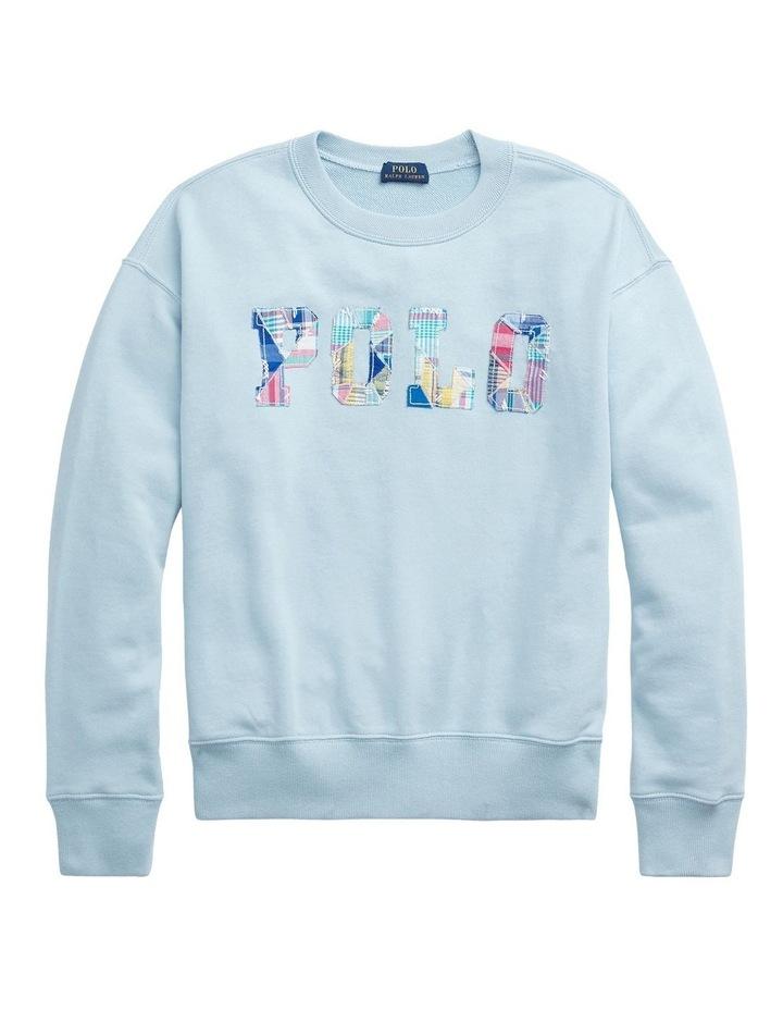 Patchwork Logo Fleece Sweatshirt image 4