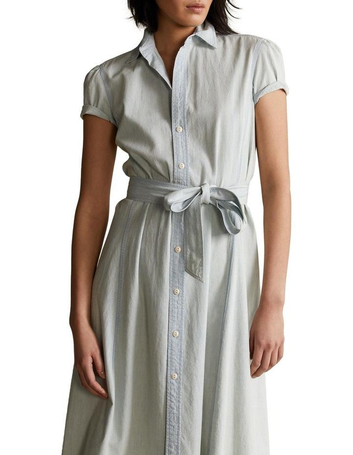 Cotton Chambray Shirtdress image 1