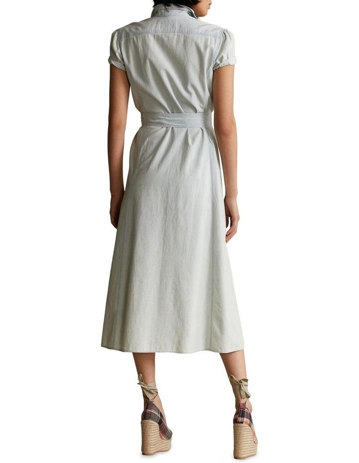 Cotton Chambray Shirtdress image 2