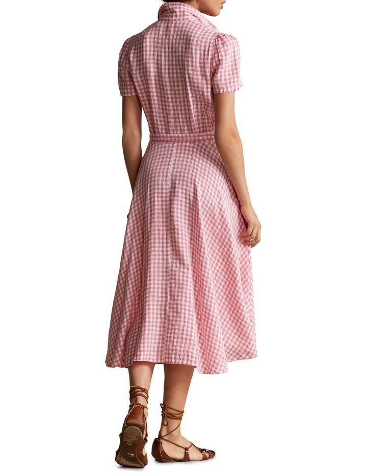 Gingham Linen Shirtdress image 2