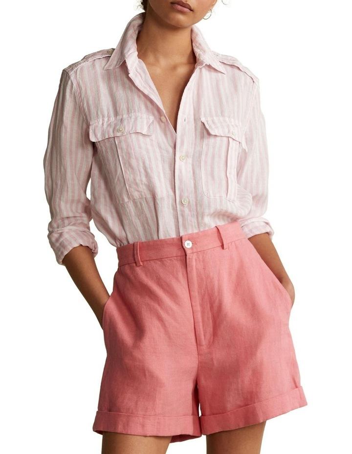 Patch-Pocket Linen Shirt image 1