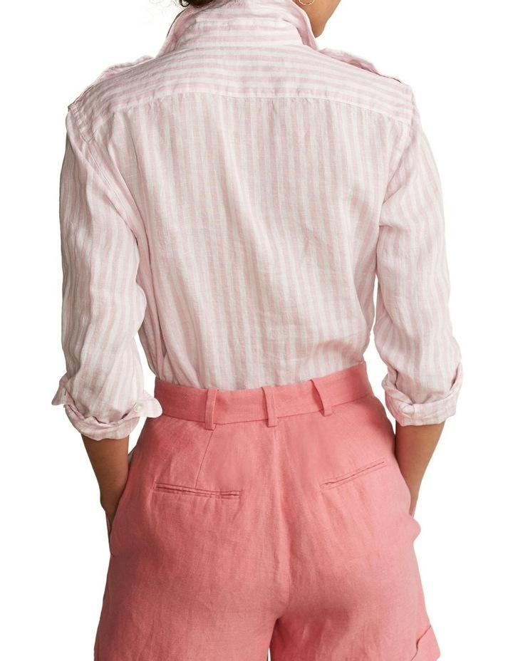 Patch-Pocket Linen Shirt image 2