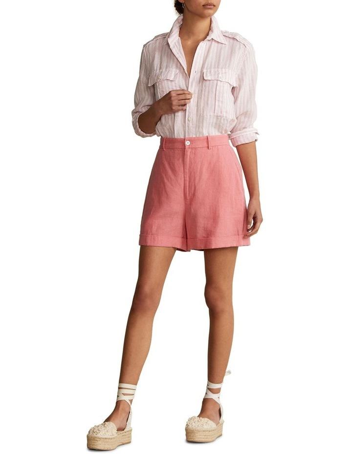 Patch-Pocket Linen Shirt image 3